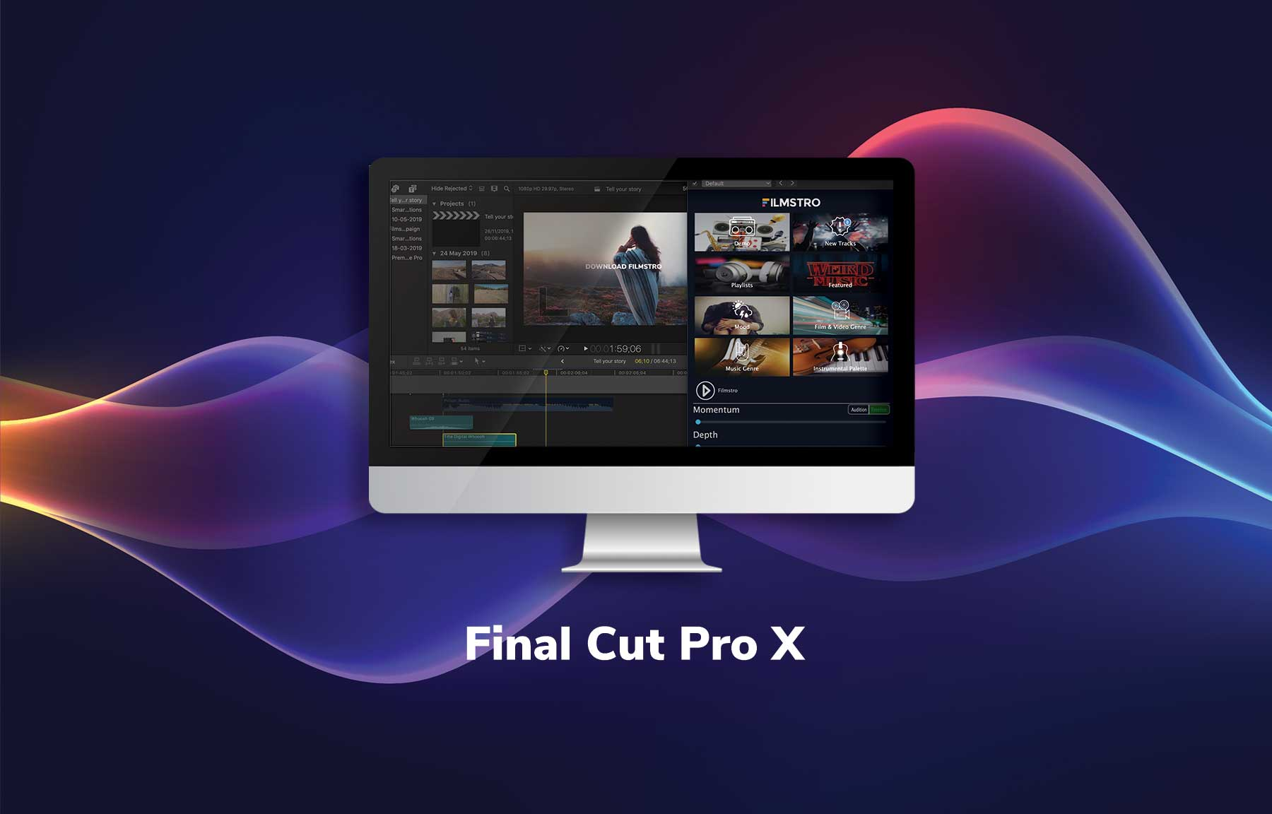 Apple Final Cut Pro X Plugin