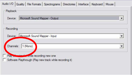 How to record audio from your computer on Audacity