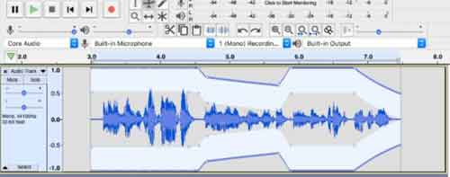 Audio editing on a budget: Audacity